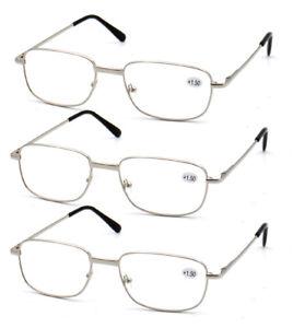 3er-pack-Herren-Metall-Silber-Rechteck-Lesebrille-1-0-1-5-2-0-2-5-3-0-3-5-AFA063