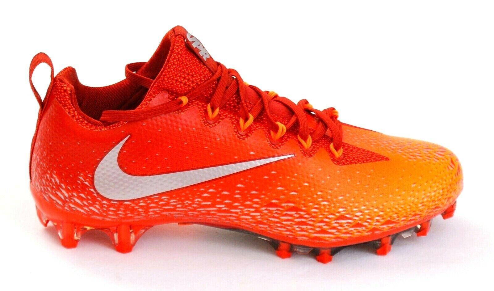 Nike Vapor Untouchable Pro orange Football Cleats Men's NIB