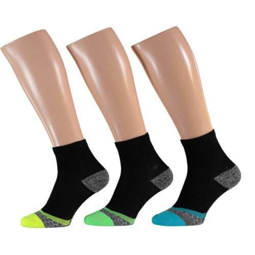 3 Paire Sport Baskets Running Chaussettes réfléchissant de compression séchage rapide
