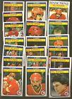 1982 - 83 0 PEE CHEE OPC Hockey CALGARY FLAMES Near Team Set Lot