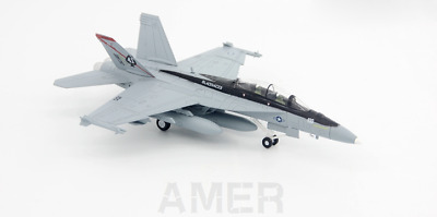 1:100 US Navy Boeing F-18F Hornet Strike Fighter VF-41 Black Emperor Squadron