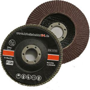 125-mm-Faecherschleifscheiben-in-versch-Koernung-Schleifmopteller-Faecherscheiben