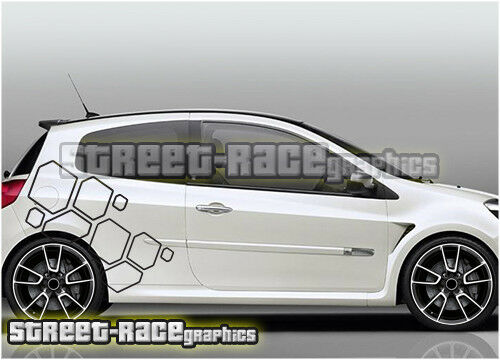 Renault clio 011 renault sport f1 team diamonds decals vinyl graphics stickers