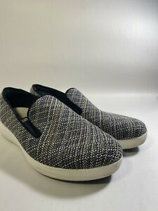 FitFlop-Superskate-Knit-Twill-Slip-On-Loafer-Womens-US-9-VGC
