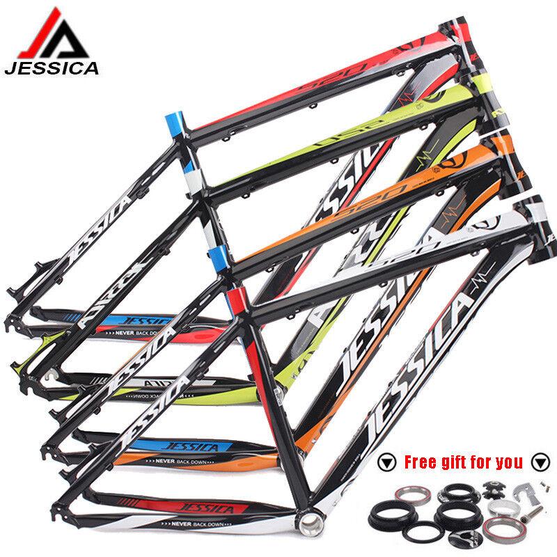 26  Cuadro para Bicicleta de montaña y Auriculares 16 17 Ultralight De Aluminio Bicicleta De Montaña Marco de bicicleta