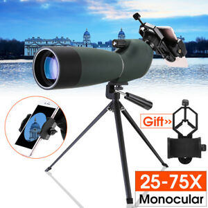 25-75X70-HD-Etanche-Zoom-Monoculaire-Telescope-Reperage-Trepied-Telephone