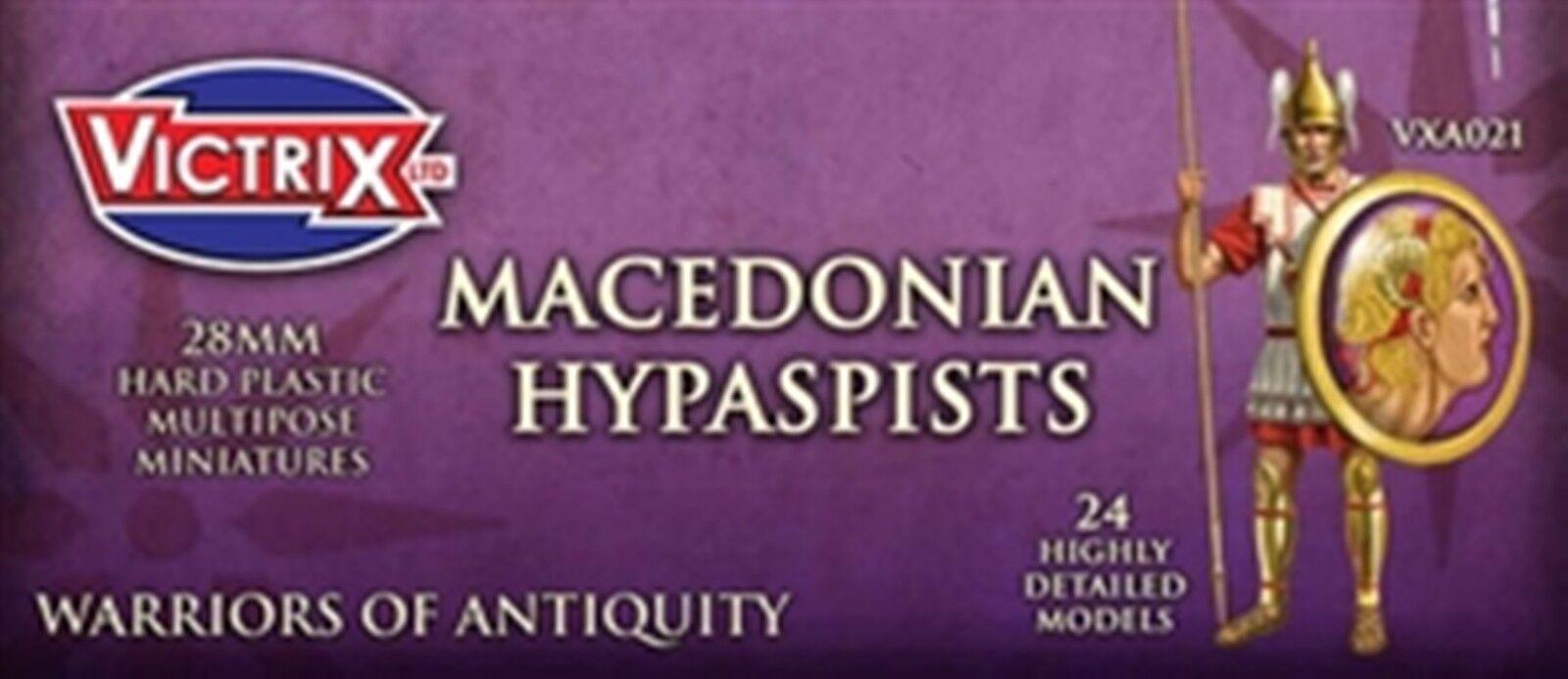 NYA VICTRIX MINIATURER MAKEDONIAN HYPAPISTS FIGURES GAMKOLLECTILES VXA021