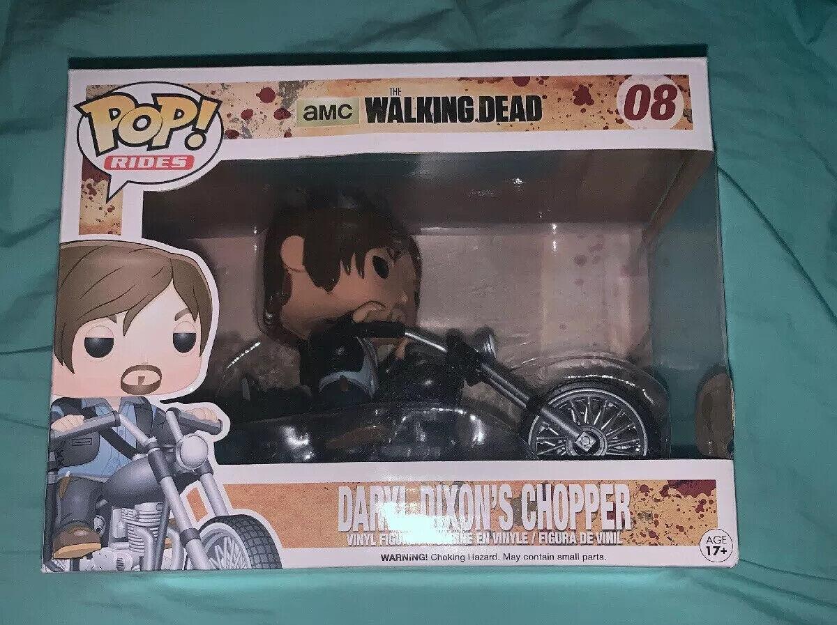 """The Walking Dead Daryl Dixon/'s Chopper 3.75/"""" Figura de Vinilo Pop RIDES FUNKO 08"""