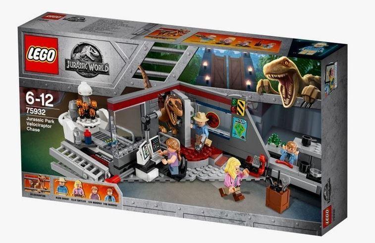 Lego Jurassic World 75932 Jurassic Park VELOCIRAPTOR Chase (neuf scellé)