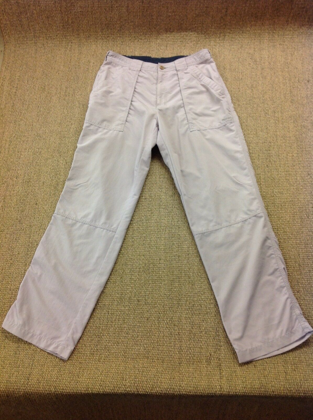 Men's ROHAN W32-34 L32.5 Fusion Beige Walking Trousers. Superb