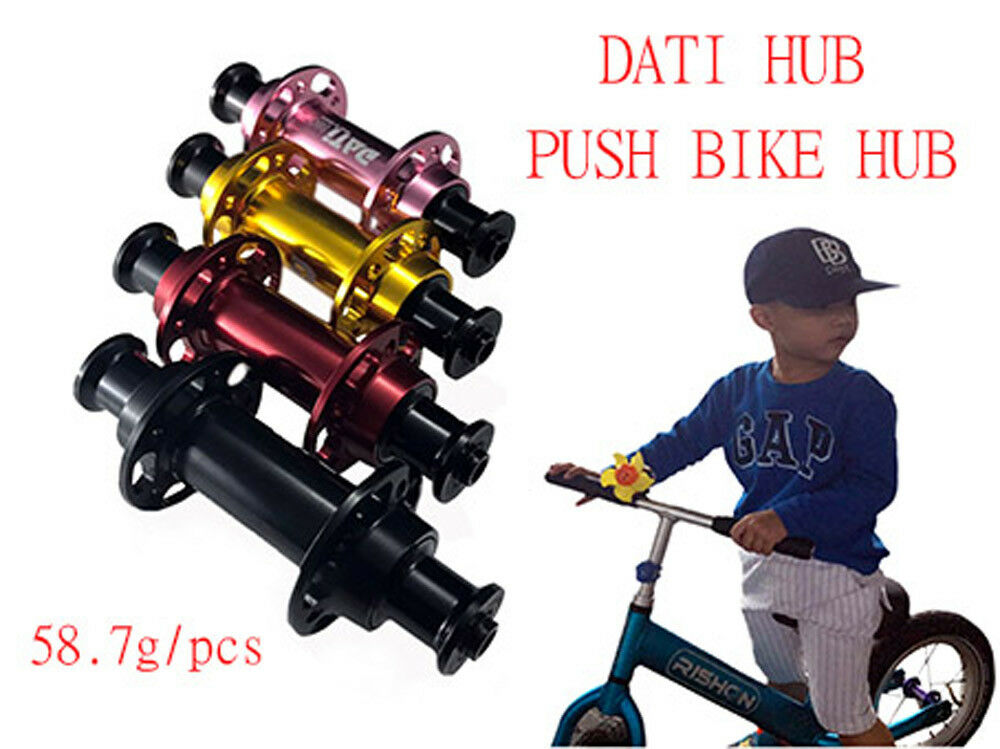 NEW DATI S6C AlloyPush Kids Balance Bike Bicycle Super light hub Front+Rear set