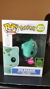 Soft Protector Funko Pop Flocked Bulbasaur Amazon ECCC SHARED SPRING EXCLUSIVE