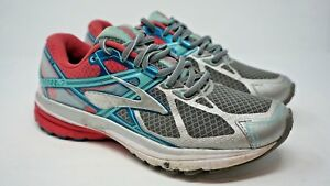 Women-039-s-Brooks-Ravenna-7-Shoes-Sneakers-Size-8B-Med-Running-Pink-Teal-Gray-N807