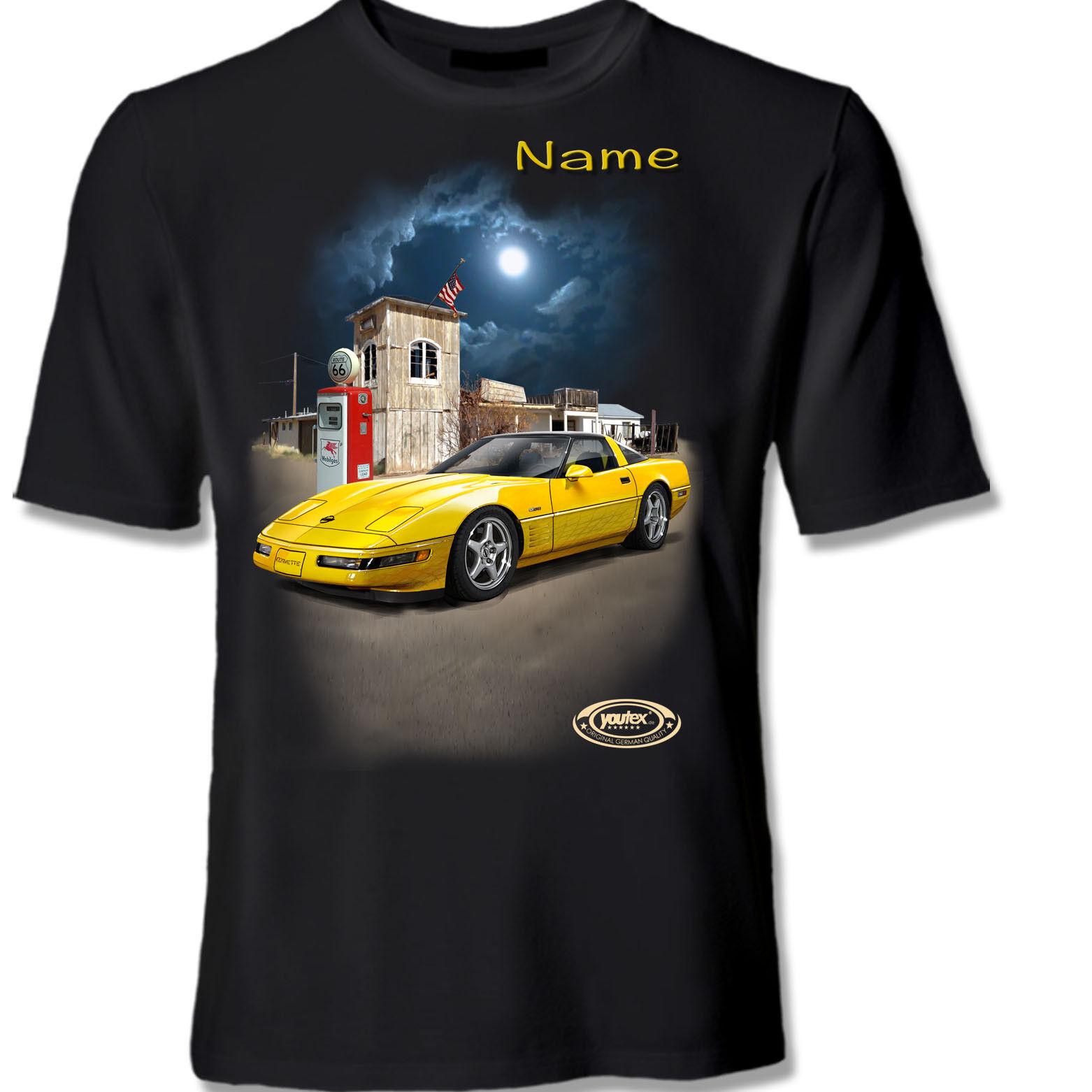 CHEVROLET CORVETTE C4 ZR1 Muscle Car Tuning Auto Shirt T-Shirt original YOUTEX