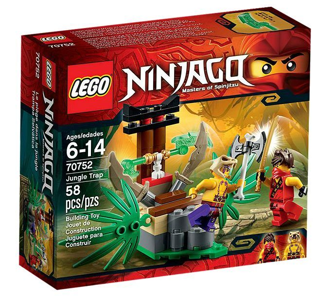 LEGO® Ninjago 70752 Dschungelfalle NEU OVP_ Jungle Trap NEW MISB MISB MISB NRFB 8de649