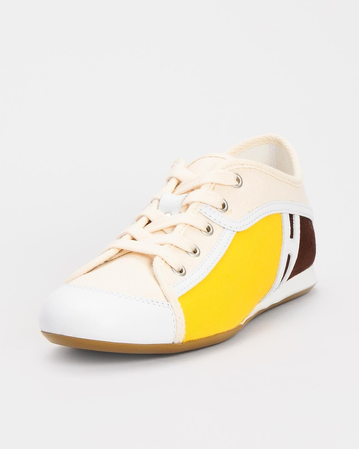 HOGAN OLYMPIA VINTAGE WOMEN'S SNEAKER MADE IN ITALY, SIZE 37 6.5 US. BRAND NEW