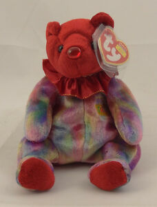 TY BIRTHDAY COLLECTION BEANIE BABY ~ JULY (RUBY) 8 Inch Bear ~ MINT ... a88c36bf99e