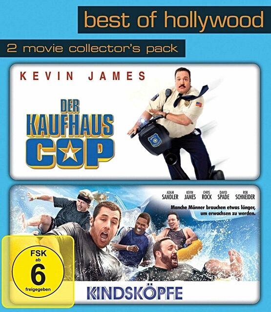 Der Kaufhaus Cop / Kindsköpfe - Best Of Hollywood 2 x DVD