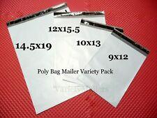 100 Poly Bag Mailer Variety Pack Medium Amp Large Size Shipping Bag Assortment