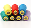 ilauke 12 X 1500m Overlocking Sewing Machine Polyester Thread Spools for Serger