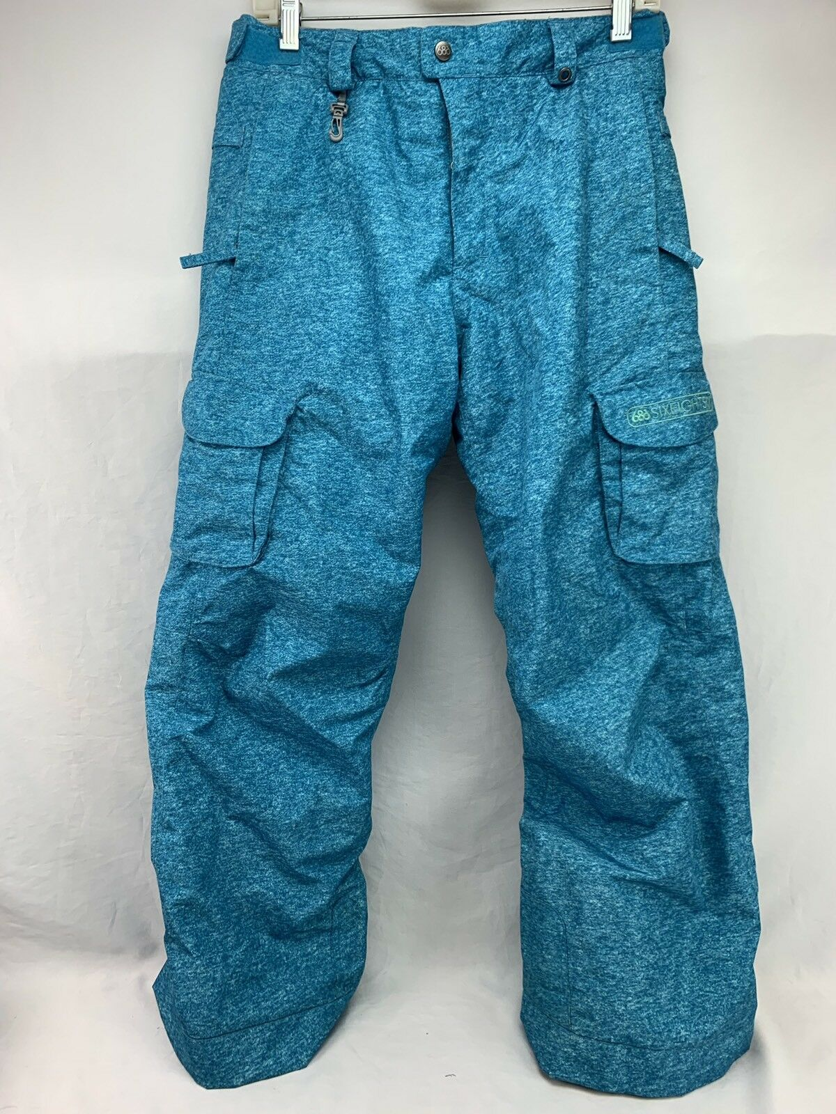 686 Smarty Snow Board Pants Youth Girls bluee XL Detachable Lining