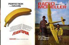 "RADIO MODELLER MAGAZINE 1979 FEB 120"" SPAN MINIMOA FEATURE, IRVINE SPORT 40 TEST"