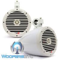 Cerwin Vega Smc8cfw Stroker 8 Marine 2way Titanium Tweeters Boat Tower Speakers