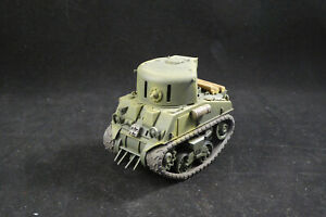 world war toon tank M4A4 CDL (Canal Defence Light) resin conversion kit