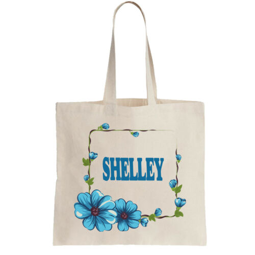 Shelley Ladies Personalised Shopping Bag Tote can amend to ANY NAME Shopper