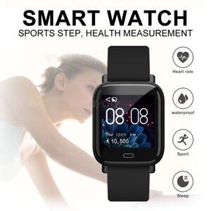 xgody g20 bluetooth smartwatch wasserdicht fitness uhr f r herren damen schwarz ebay. Black Bedroom Furniture Sets. Home Design Ideas