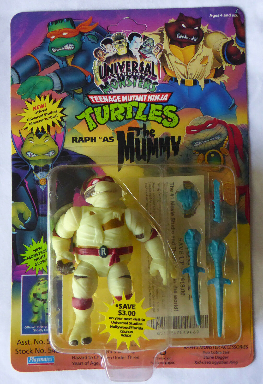1993 tmnt teenage mutant ninja turtles abbildung ralph als mami - misb