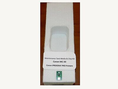 Instructions included 2 sets Canon MC-10 Maintenance Cartridge Absorbent Media