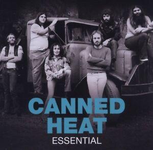 CANNED-HEAT-034-ESSENTIAL-034-CD-19-TRACKS-NEU