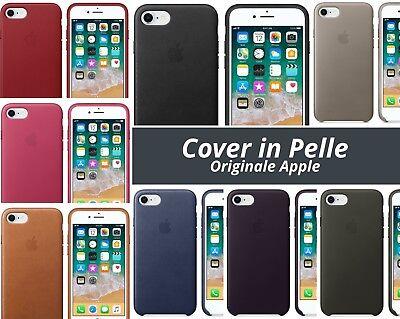 Cover in Pelle Nuova Originale Apple per Iphone 7 8 Vari Colori   eBay