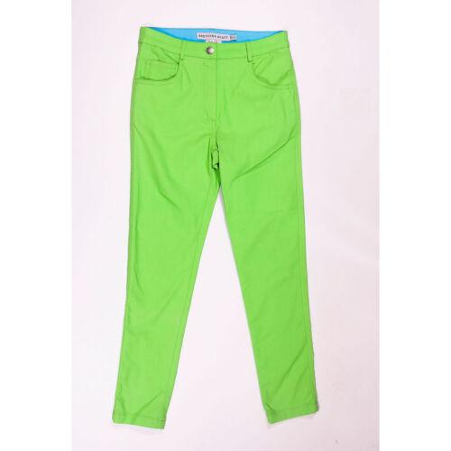 Gretchen Scott Designs Solid Lime Green Cotton Spa