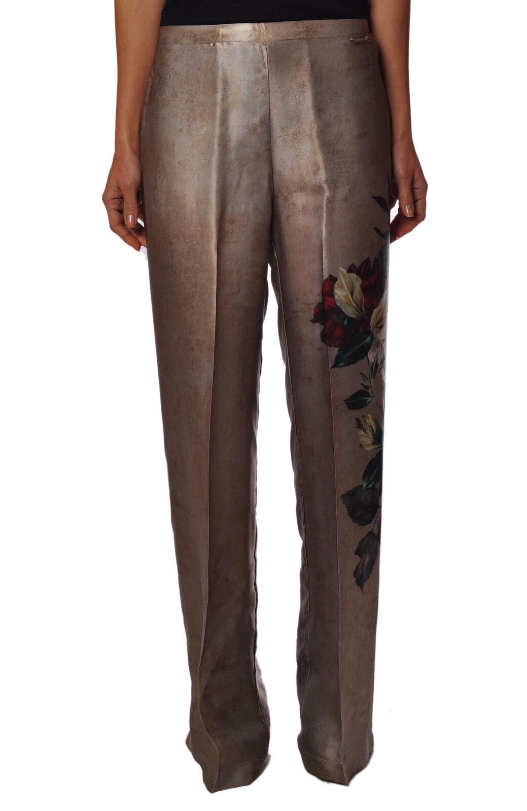 Twin Set  -  Pantalones - women - Beige - 249526A184703