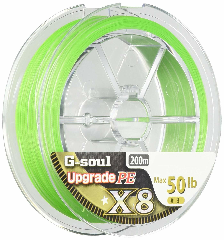 New Yotsuami YGK G-Soul X8 Upgrade 50lb m PE 8 Braid Green Line Japan