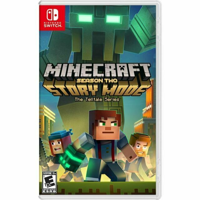 Minecraft Story Mode Season 2 Nintendo Switch 2018 For Sale
