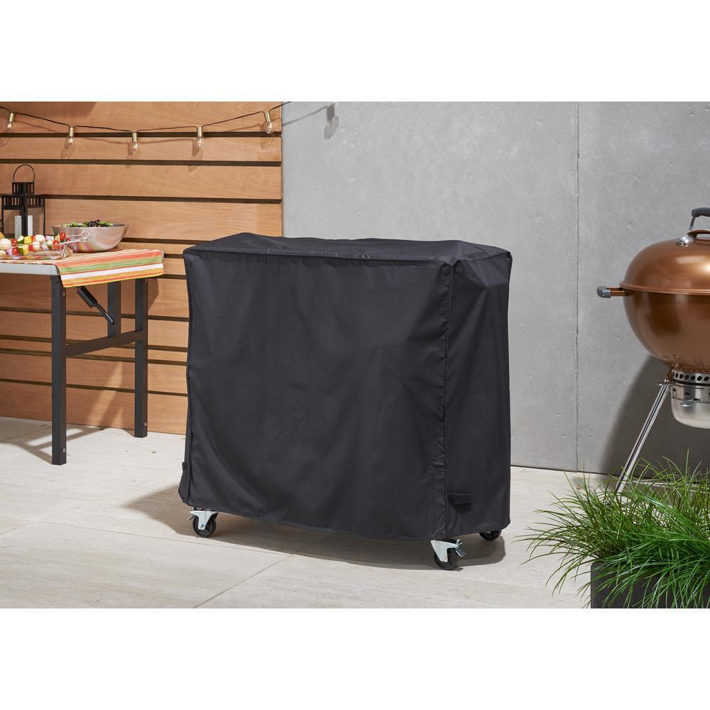 Negro Resistente a UV 80 QT 100 Qt. Accesorio De Cubierta Enfriador repelente al agua