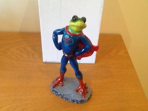 Frog Superman,new,by shudehill