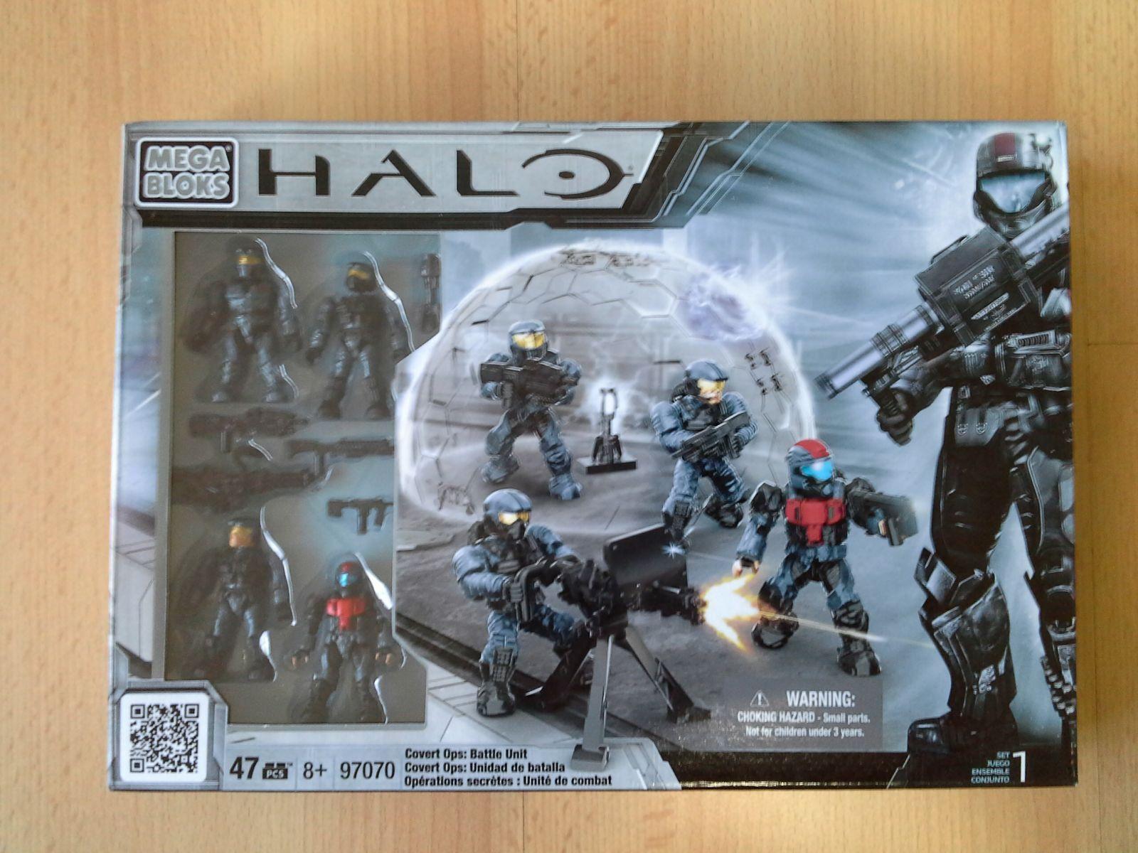 Halo Mega Bloks Unsc operaciones encubiertas conjunto de unidad de batalla, Sellados Pack 97070 Construx