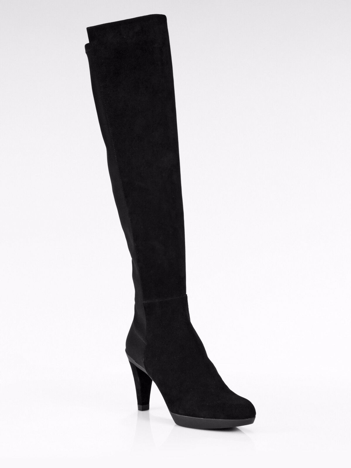 645 Stuart Weitzman Demi Over The Knee Suede Stretch Back botas mujer 10.5 NEW