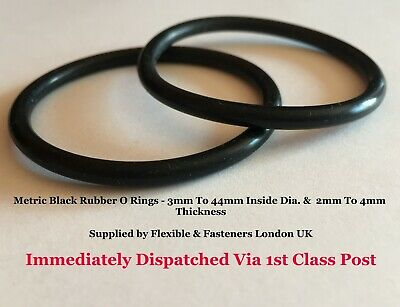 O Ring Nitrile Metric 40mm Inside Dia x 6mm Section