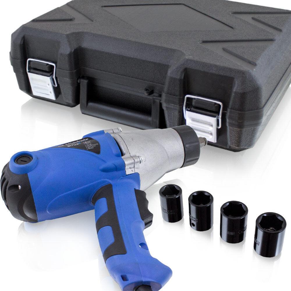 Bituxx Elektro Schlagschrauber mit Koffer 1010W 450Nm Drehmoment inkl. Koffer