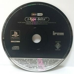 R-Type-Delta-Promo-Copy-Sony-Playstation-ps1-Full-Game-Top-Zustand
