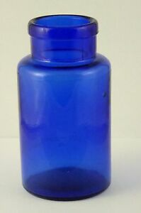 Antique 1800s Antique Blue Cobalt Glass Bottle Stamped 12 LAYBY AVAILABLE