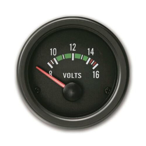 Jom Youngtimer ZusatzInstrument 12 Volt Anzeige Instrument 52mm Rallye Schwarz
