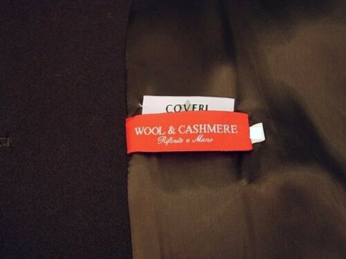 Cashmere 50 New Italy Donna Lana Wool Tg 52 Coat 46 Marrone Coveri Cappotto H8TI4qwWgq