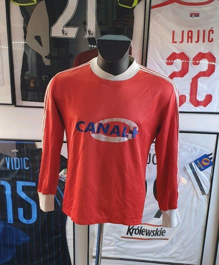 Maillot Maglia  Camisa Copa de Francia Usado Usado Vintage 1980 Ventex M  Con precio barato para obtener la mejor marca.