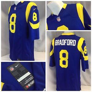 size 40 2e62e 9a6b3 Los Angeles Rams Nike On Field Retro Jersey S Blue Bradford ...